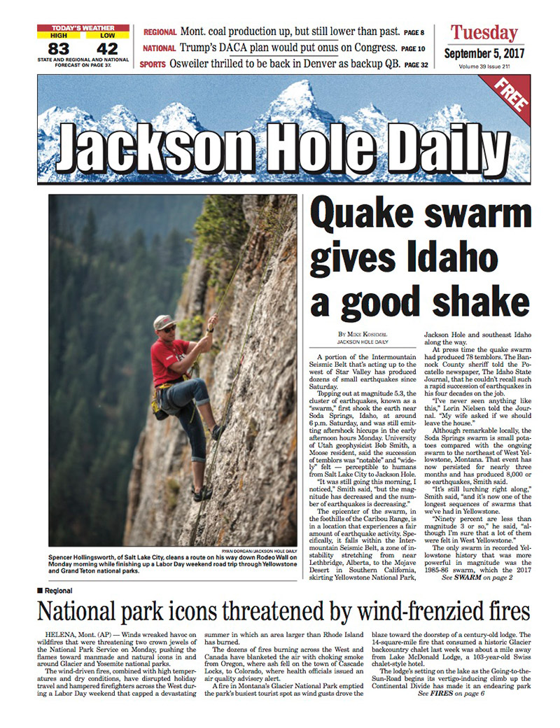 Jackson Hole Daily - Teton Media Works